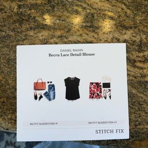 Daniel rainn stitchfix lace boho blouse